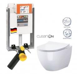 JOMO modul pre zamurovanie bez sedátka + WC CERSANIT ZEN CLEANON + SEDADLO (164-14600479-00 HA1)