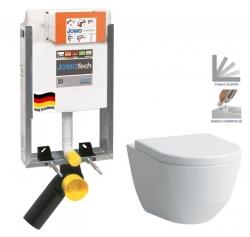 JOMO modul pre zamurovanie bez sedátka + WC LAUFEN PRO + SEDADLO (164-14600479-00 LP3)