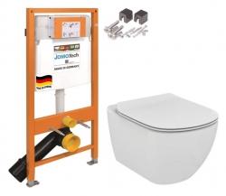 JOMO DUO modul pre závesné WC bez dosky + WC Ideal Standard Tesi se sedadlem (174-91100700-00 TE3)