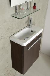 SAPHO - LATUS VII umývadlová skrinka 43,2x50x21,2 cm, borovica rustik + Umývadielko RESORT 45cm (55912-SET), fotografie 10/6