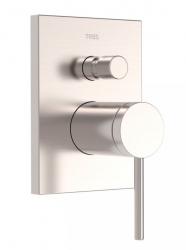 TRES - Baterie MONO-TERM® (dvoucestný)s uzávěrem a regulací průtoku.  Včetně podomítkového tělesa (20118001AC)
