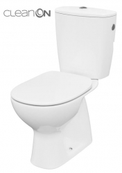 CERSANIT - WC KOMBI 682 ARTECO CO 020 3/5, SEDADLO ARTECO POLYPROPYLEN, SOFTCLOSE NEW (K667-077)