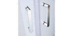 Sprchovací kút štvrťkruh 80 x190, R55, posuv, číre sklo (S154-001), fotografie 6/5