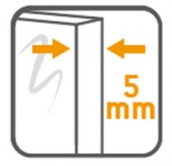 Sprchovací kút obdĺžnik 100x80x190, posuv, číre sklo (S154-003), fotografie 12/8