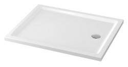 CERSANIT - Sprchová vanička TAKO 100x80x4, obdĺžnik CW (S204-019)