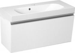 SAPHO - MELODY umývadlová skrinka 80x38x34cm s umývadlom JOY 80cm, biela (56052-SET)