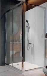Sprchovací kút ARTECO obdĺžnik 120x90x190, posuv, číre sklo (S157-012), fotografie 4/4