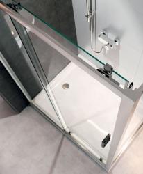 Sprchovací kút ARTECO obdĺžnik 120x90x190, posuv, číre sklo (S157-012), fotografie 6/4
