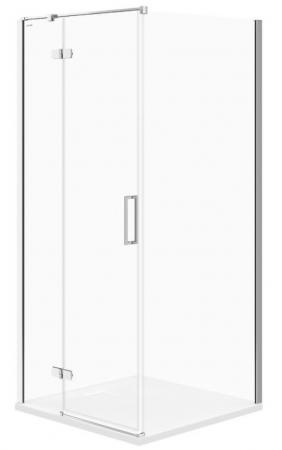 Sprchovací kút JOTA štvorec 90x195, kyvný, ľavý, číre sklo (S160-001)