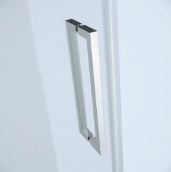 Sprchovací kút JOTA štvorec 90x195, kyvný, ľavý, číre sklo (S160-001), fotografie 4/9
