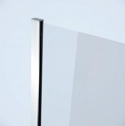 Sprchovací kút MODUO štvrťkruh 80x195, kývne, číre sklo (S162-009), fotografie 14/7