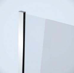 Sprchová pevná bočná stena MODUO 80x195, číre sklo (S162-007), fotografie 2/2