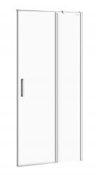 CERSANIT - Kyvné dvere s pevným poľom MODUO 90x195, pravé, číre sklo (S162-006)
