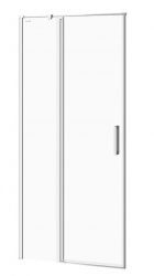 CERSANIT - Kyvné dvere s pevným poľom MODUO 90x195, ľavé, číre sklo (S162-005)