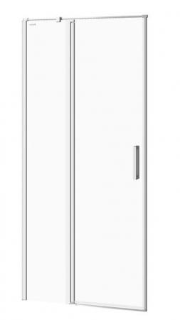 Kyvné dvere s pevným poľom MODUO 90x195, ľavé, číre sklo (S162-005)
