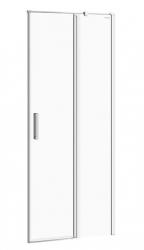 CERSANIT - Kyvné dvere s pevným poľom MODUO 80x195, pravé, číre sklo (S162-004)