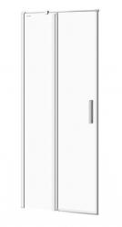 CERSANIT - Kyvné dvere s pevným poľom MODUO 80x195, ľavé, číre sklo (S162-003)