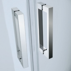 Kyvné dvere s pevným poľom MODUO 80x195, ľavé, číre sklo (S162-003), fotografie 8/5