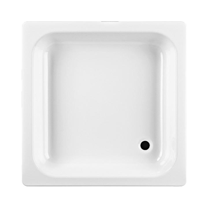 Sprchová vanička ocel bílá 90x90x14 antislip, JIKA SOFIA (H2140900000111)