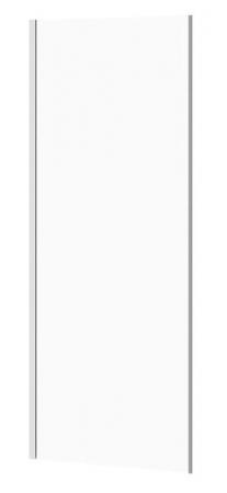 Bočná stena k posuvným dverám CREA 80x200, číre sklo (S900-2613)