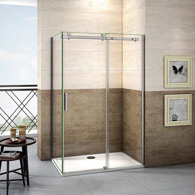 H K - Sprchovací kút DIAMOND 120x80 cm L / P variant vrátane sprchovej vaničky z liateho mramoru SE-DIAMOND12080 / SE-ROCKY-12080
