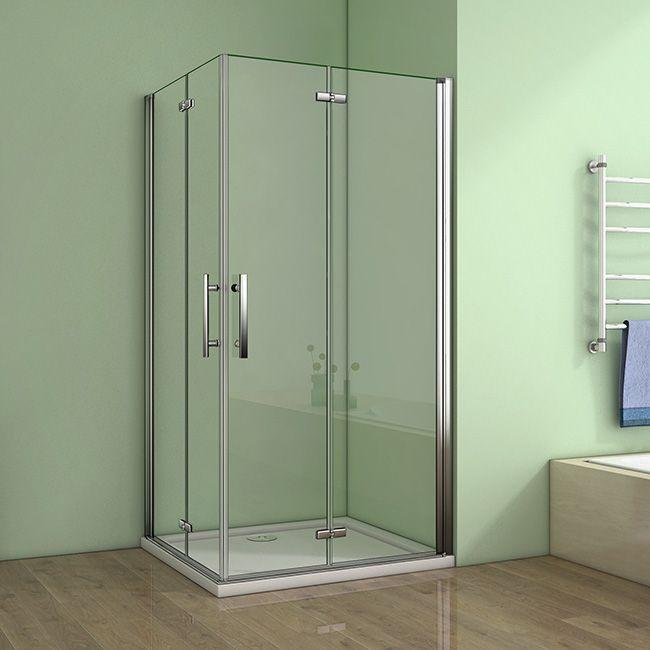 H K - Obdĺžnikový sprchovací kút MELODY R907, 90x70 cm sa zalamovacím dverami vrátane sprchovej vaničky z liateho mramoru SE-MELODYR907 / SE-ROCKY-9070