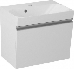 SAPHO - MELODY umývadlová skrinka 50x38x34cm s umývadlom JOY 50cm, biela (56050-SET)