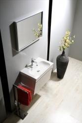 SAPHO - MELODY umývadlová skrinka 50x38x34cm s umývadlom JOY 50cm, biela (56050-SET), fotografie 10/6