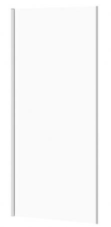 Bočná stena k posuvným dverám CREA 90x200, číre sklo (S900-2614)