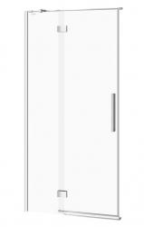 CERSANIT - Sprchové dvere s pántami CREA 100x200, ľavé, číre sklo (S159-001)
