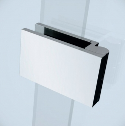 Sprchové dvere s pántami CREA 100x200, ľavé, číre sklo (S159-001), fotografie 2/7