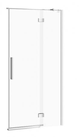 Sprchové dvere s pántami CREA 100x200, pravé, číre sklo (S159-002)