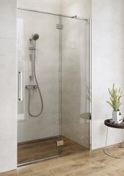 Sprchové dvere s pántami CREA 100x200, pravé, číre sklo (S159-002), fotografie 4/6