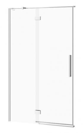 Sprchové dvere s pántami CREA 120x200, ľavé, číre sklo (S159-003)