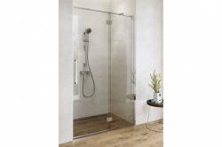 Sprchové dvere s pántami CREA 120x200, ľavé, číre sklo (S159-003), fotografie 2/9