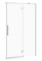 CERSANIT - Sprchové dvere s pántami CREA 120x200, pravé, číre sklo (S159-004)
