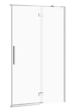 Sprchové dvere s pántami CREA 120x200, pravé, číre sklo (S159-004)