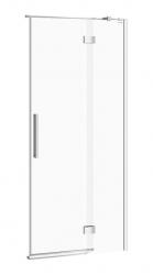 CERSANIT - Sprchové dvere s pántami CREA 90x200, pravé, číre sklo (S159-006)