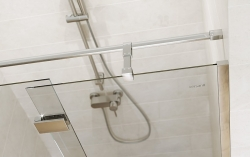 Sprchové dvere s pántami CREA 90x200, pravé, číre sklo (S159-006), fotografie 4/6