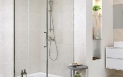Sprchové posuvné dvere CREA 120x200, číre sklo (S159-007), fotografie 6/4