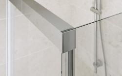 Sprchové posuvné dvere CREA 120x200, číre sklo (S159-007), fotografie 2/4