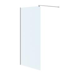 CERSANIT - Sprchová zástena WALK-IN MILLE CHROM 100x200, číre sklo (S161-001)
