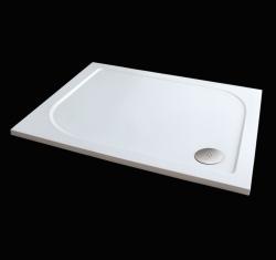Aquatek - Hard 100x80 sprchová vanička z litého mramoru, doplňky čelní krycí panel (HARD10080-23)