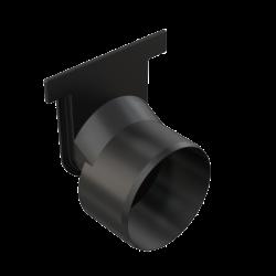 Alcaplast Čelo žlabu pro napojení na čelní odpad DN 110 AVZ-P010 (AVZ-P010)