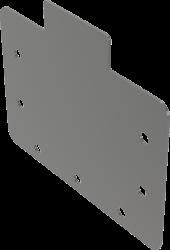 Alcaplast Čelo pro štěrbinový žlab AISI 316L (APR2-P010)