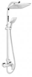 NOVASERVIS - Sprchová súprava + sprchová batéria s horným vývodom 36062 (SET069/36,0), fotografie 2/2