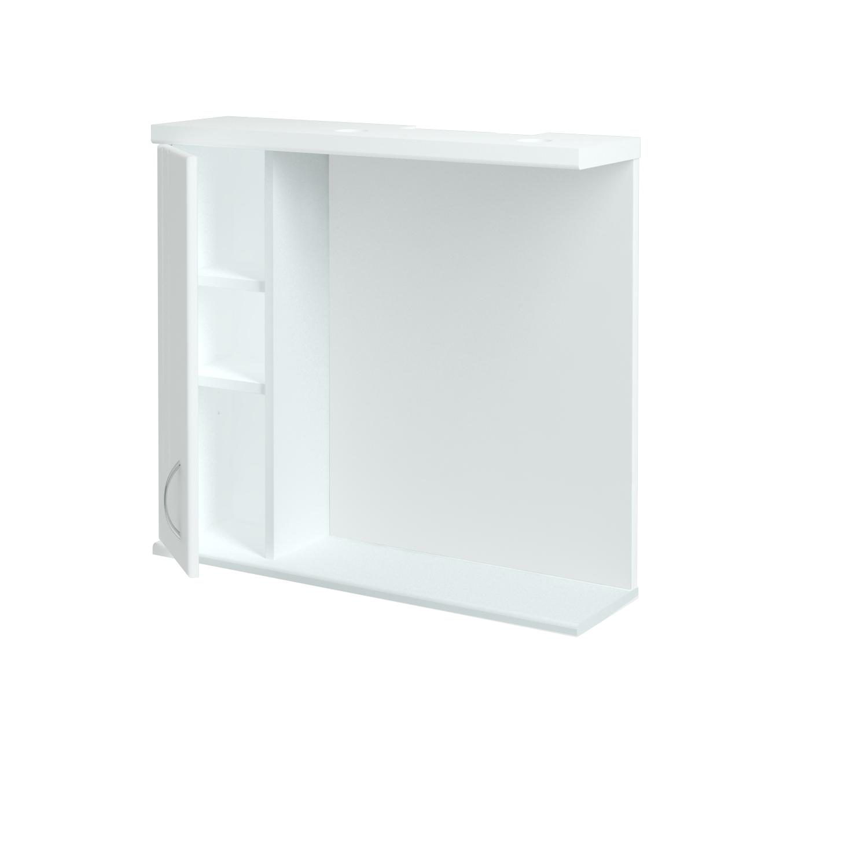 Dřevojas - Jednodverová galérka DREJA GAOE 75 - N01 Bílá lesk / L01 Bílá vysoký lesk / Levé (17036)