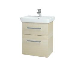 Dreja - Kúpeľňová skriňa GO SZZ2 50 - D02 Bříza / Úchytka T01 / D02 Bříza (28155A)
