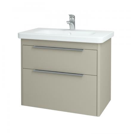 Dreja - Kúpeľňová skriňa ENZO SZZ2 80 - L04 Béžová vysoký lesk / L04 Béžová vysoký lesk (52495)