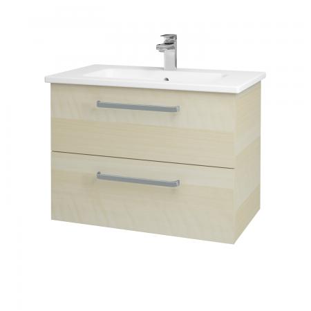 Dreja - Kúpeľňová skriňa GIO SZZ2 80 - D02 Bříza / Úchytka T01 / D02 Bříza (82072A)